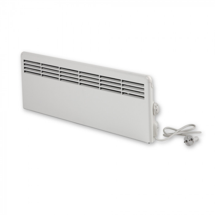 Ensto mini electrical heater with mechanical thermostat 1000 W EPHBMM10P