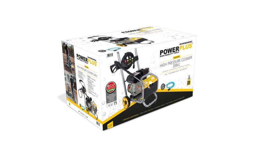 AUGSTSPIEDIENA MAZGĀTĀJS POWER PLUS 208 CC POW XG9009 540 L/h 173 bar (POW XG9009)