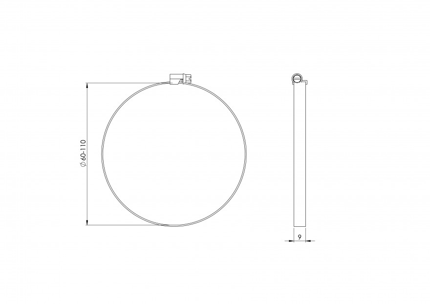 clampmetal,Ø100mm