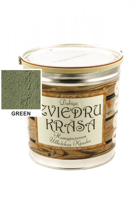 Stafor Natural SWEDISH Paint 3L green