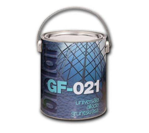 Biolar Gruntskrāsa GF-021    0.8l sarkan-brūna