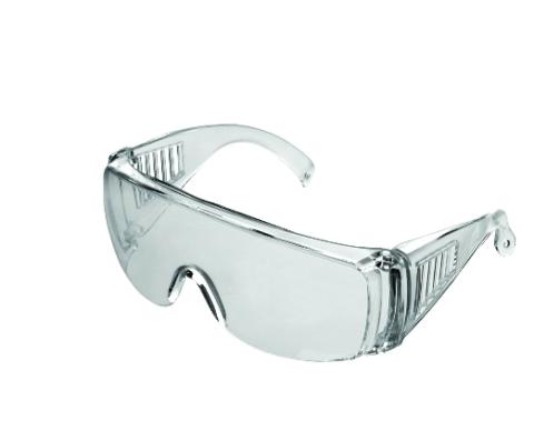 Aizsargbrilles caurspīdīgas