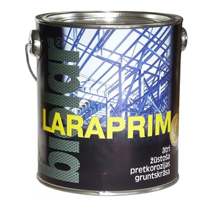 Biolar LARAPRIM M  2.2L melna  Pretkorozijas gruntskrāsa ātri žūstoša