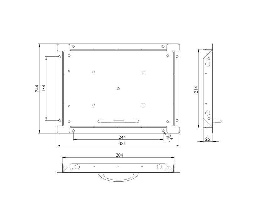 universaltilehatchmetal,250x350mm
