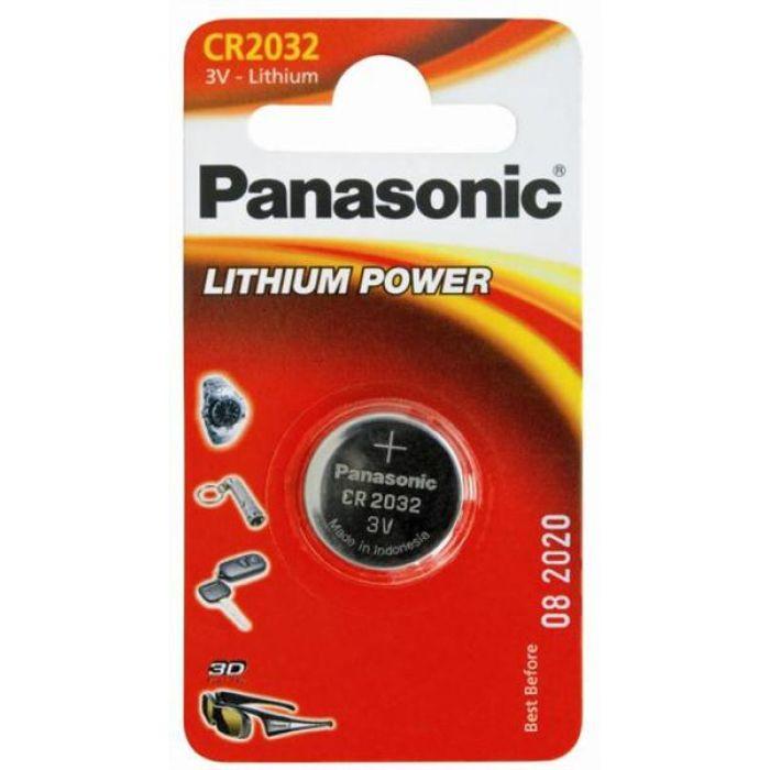 BATERIJA PANASONIC CR2032 lītija 3V 1gb/iep 5004LC,BR2032,DL2032,ECR2032,ST-T15