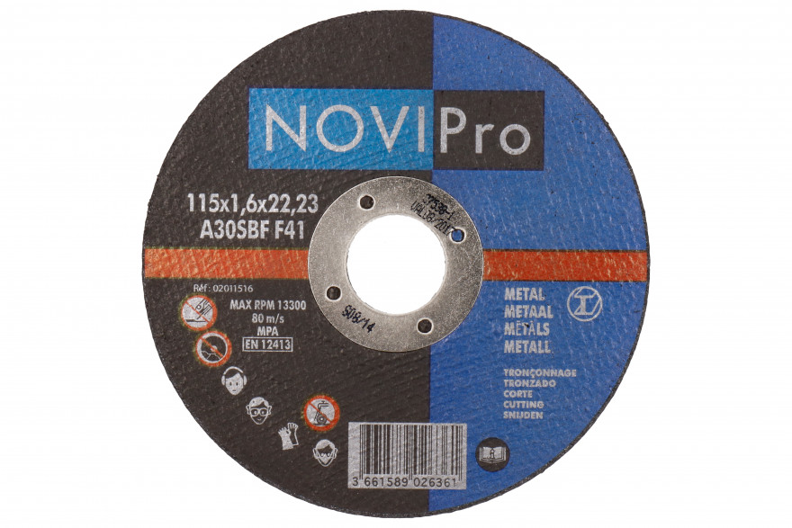 Griezējdisks metāla 125X2.5 PL Novipro