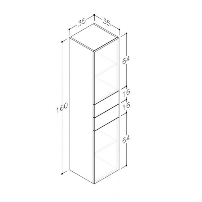 Tall unit TU/35-1/4