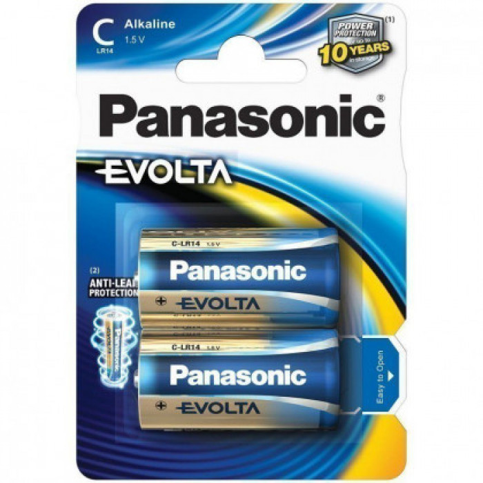 BATTERY PANASONIC EVOLTA C 2PCS./PACK