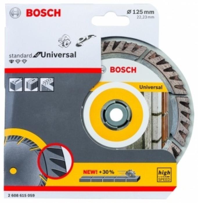 Bosch Standard for Universal Diamond Cutting Disc 125mm 2608615059