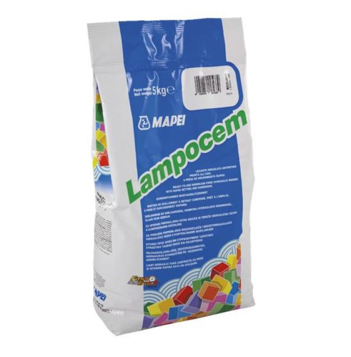 Mapei LAMPOCEM 5kg Ready-to-use shrinkage-free rapid setting and hardening hydraulic binder