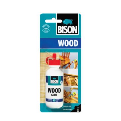 Bison WOOD GLUE 75g  D2  Līme kokam iekšdarbos