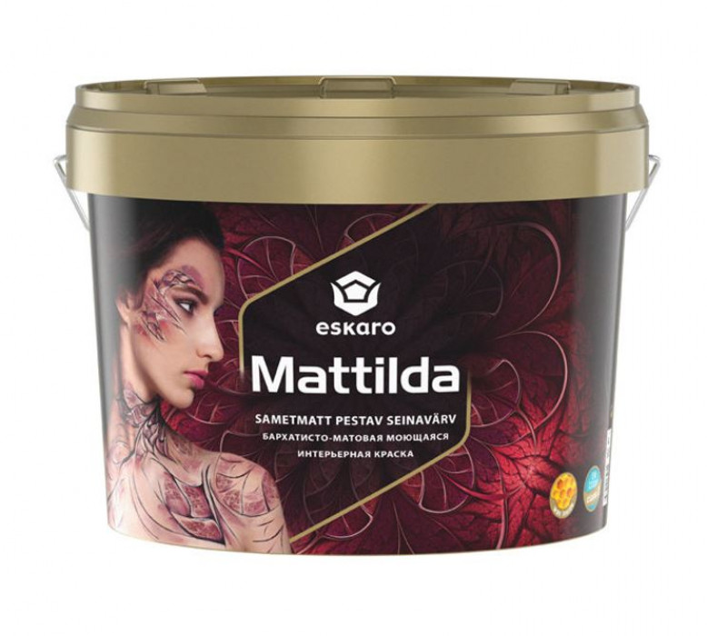 Eskaro MATTILDA A 2.85L Full-matt paint for walls and ceilings