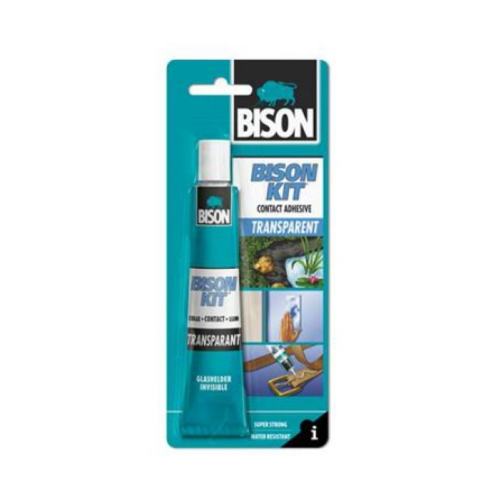 Bison BISON KIT TRANSPARENT 50ml Contact adhesive