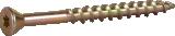 Skrūve OSB Hobau 4.2x51mm Zn dzeltena,TX15 60gab/iep., ESSVE 552452