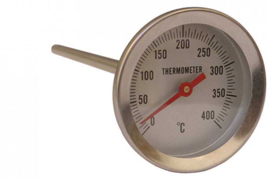 "Pisla termometrs cepeškrāsnij  <400""C"