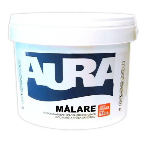 Eskaro AURA Malare 2.7L. Pilnīgi matēta Iekšdarbu krāsa