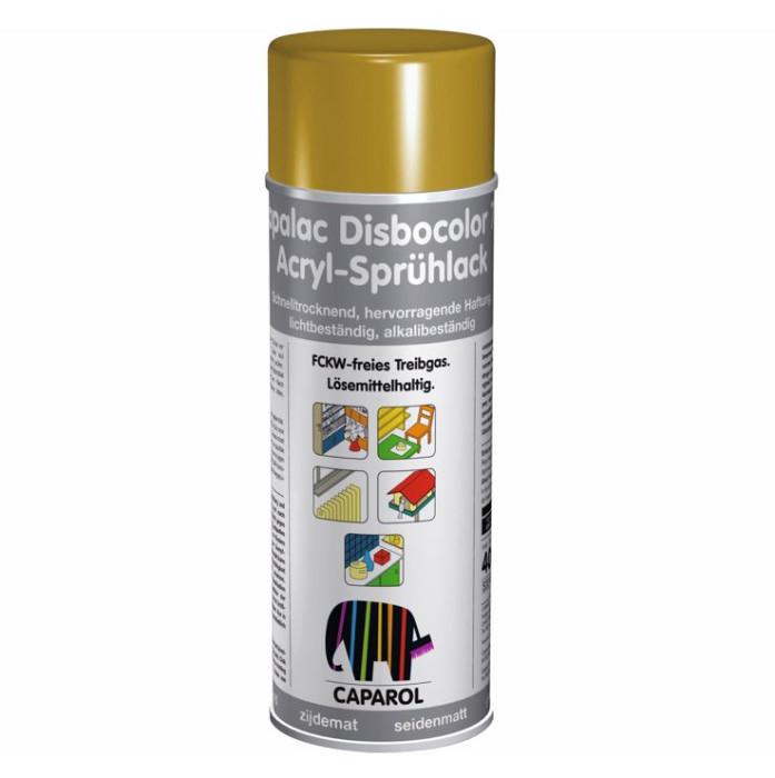 Aerosol paint Capalac Disbocolor781 Gold Acryl-Spruhlack SM 400ml