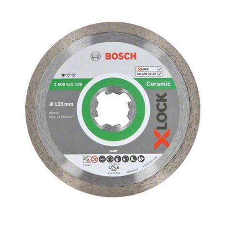X-LOCK dimanta disks keramikai  125x22.23x1.6x7 mm 2608615138