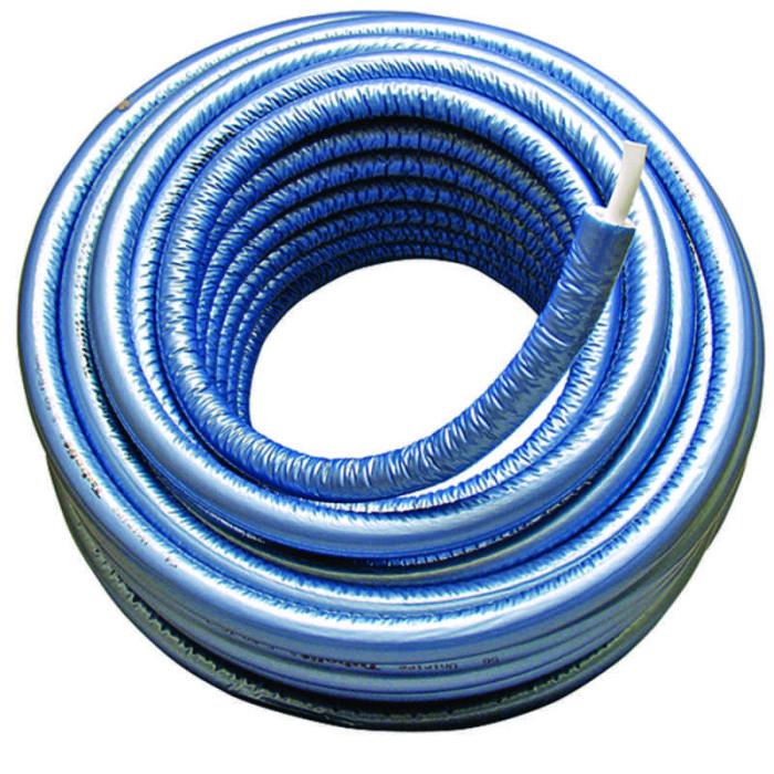 1013626 Uponor MLCP caurule ar  izolāciju S9 20x2,25 zila 75m