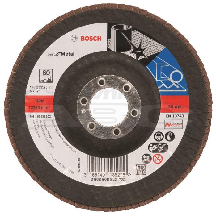 Lameldisks Bosch 125mm K60 Slī ps