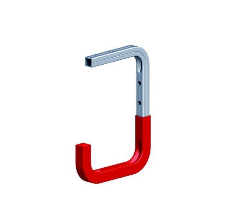 Wall hook 150x255x155 max.50kg aluminium