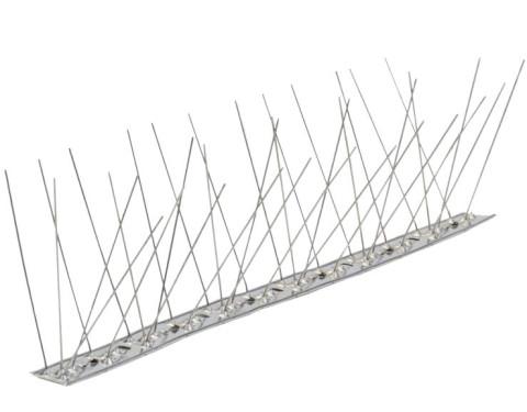 Pretputnu aizsardzība 1000mm  nerūsējoša ar 10cm stieņiem