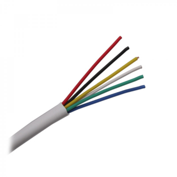 Kabelis signalizācijas 6x0.22  CQR/CA60
