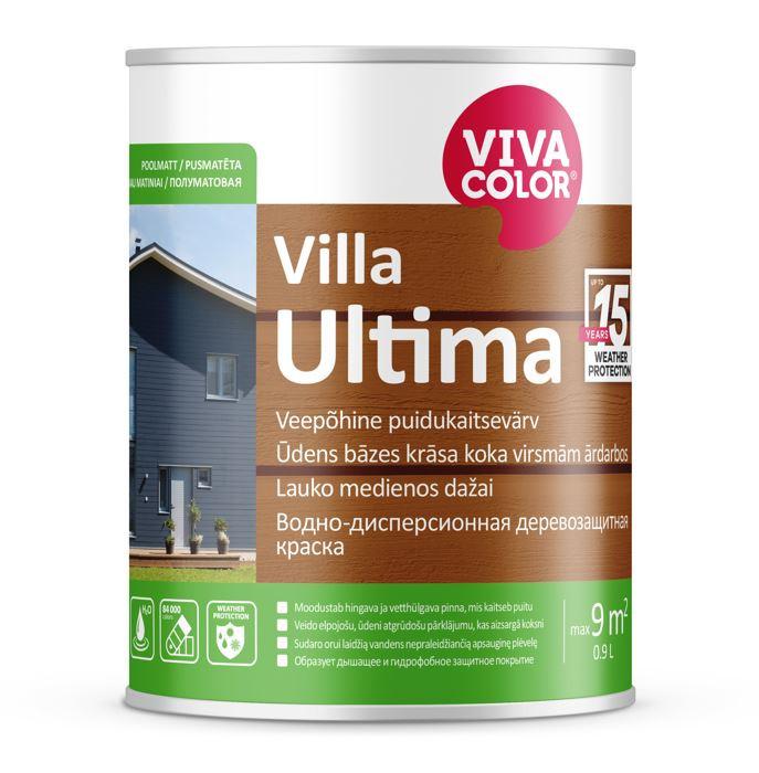 Vivacolor VILLA ULTIMA VC 0.9l Waterborne wood protection paint