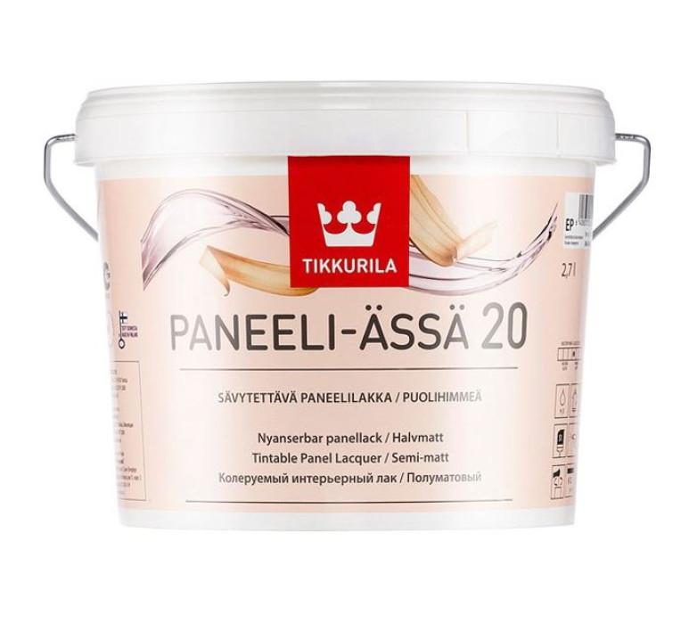Tikkurila PANEELI-ÄSSÄ 20 EP 2.7L semi-matt lacquer