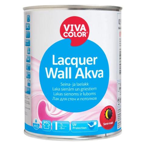 Vivacolor LACQUER WALL AKVA EP  0.9L Akrila laka