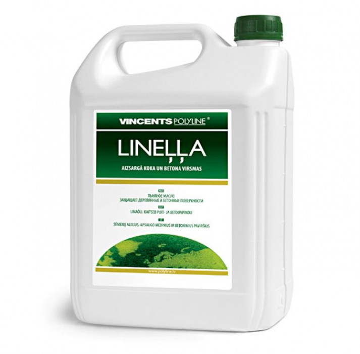 Vincents LINEĻĻA 5L Linseed Oil Stain