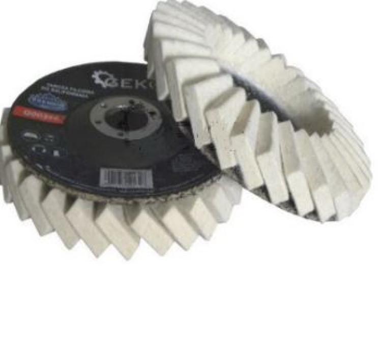 Disks ar filcu 125mm Premium (12132)