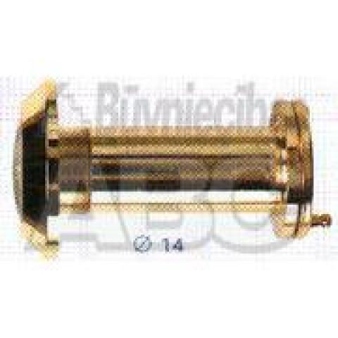Durvju actiņa ar vāciņu  35-55mm zelts
