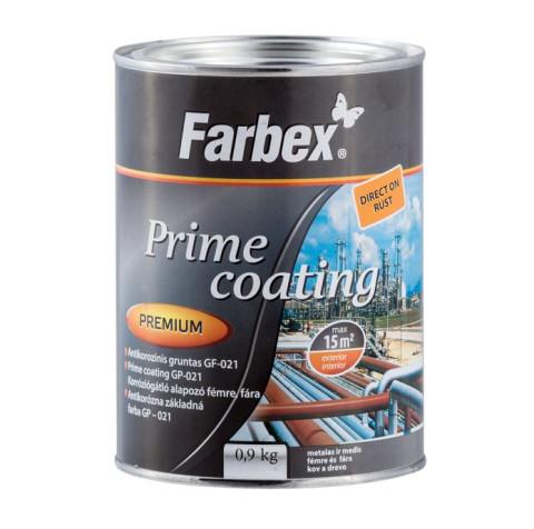 Farbex antikorozijas grunts  0.9kg melna