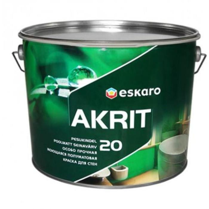 Paint Eskaro Akrit 20 9.5L