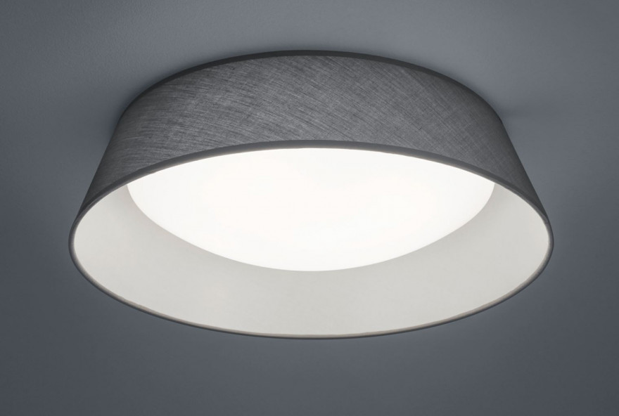 REALITY Griestu lampa PONTS LED 18W 1700lm pelēka
