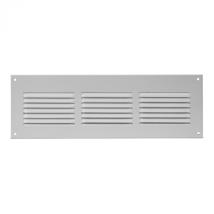 grille metal, 300x100mm, white