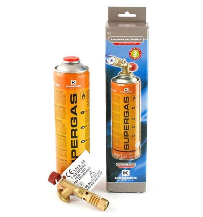 Gas torch Kemper with gas cartridge (no piezo)