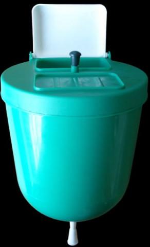 Roku mazgājamā tvertne  4 litri  plastm.