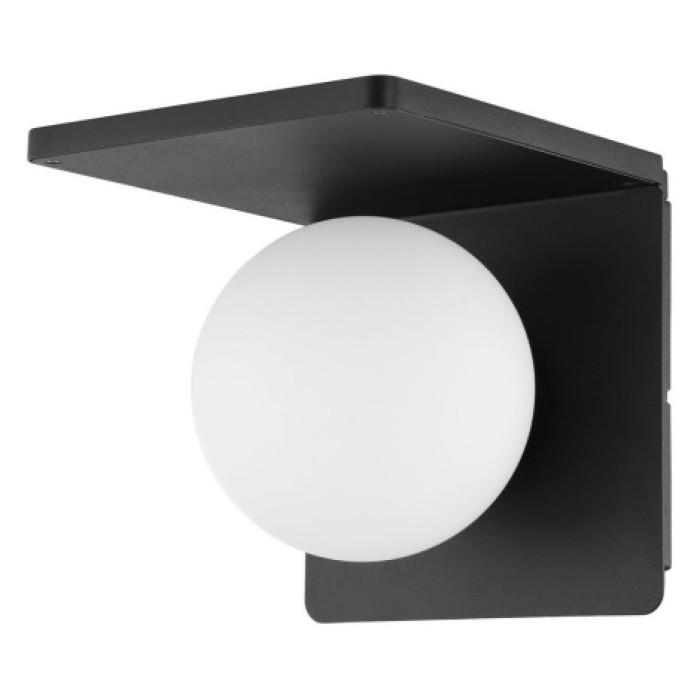 Настенный светильник EGLO Ciglie E14 max40W + беспроводное зарядное устройство черный 98265
