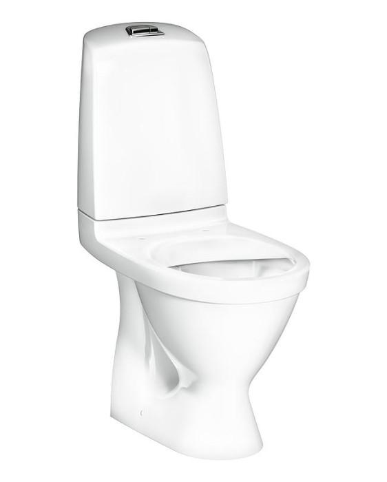 Gustavsberg pods NAUTIC 1510 balts bez vāka, 2/4L hor.izv. GB111510201205 GB111510201205 Hygienic Flush