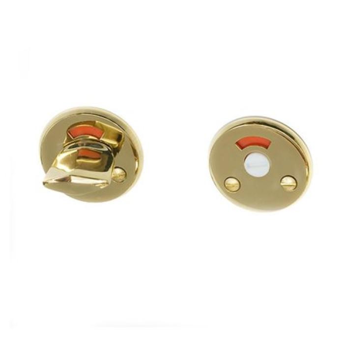 WC knob brass