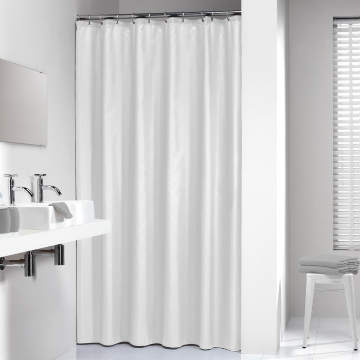 MADEIRA shower curtain 120x200 textil, white