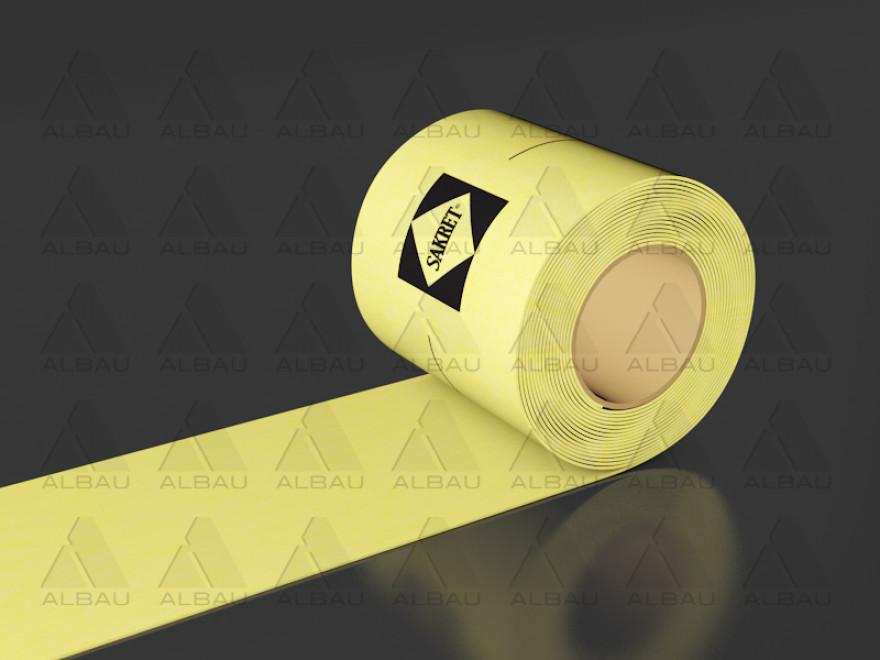 Sakret Blīvēšanas lenta dzeltena ar mērogu PL3PP R50m