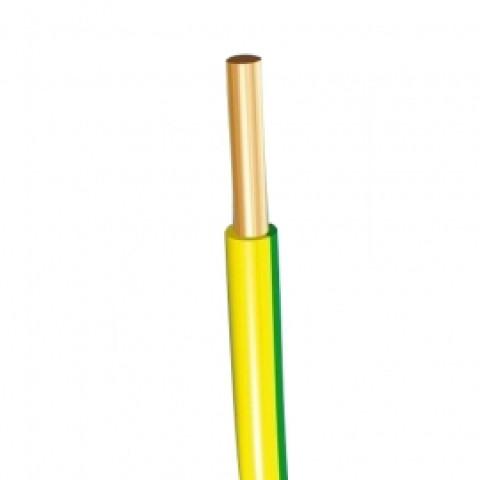 Vads monolītais viendzīslas  2.5mm2 dz/z H07V-U