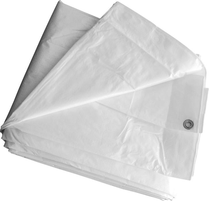Tents pārklājs 3x5m, 120gr/m2, balts NOVIPRO