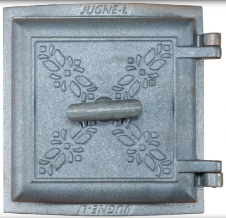 JUGNE-L krāsns durvis izliekta 280x280mm , A-39