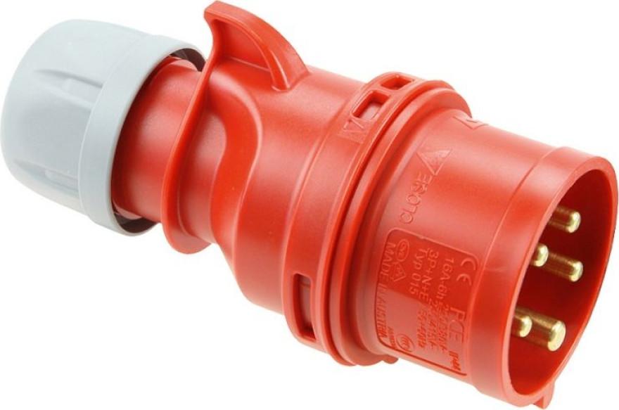 PCE Plug 16A 5p. 400V IP-44