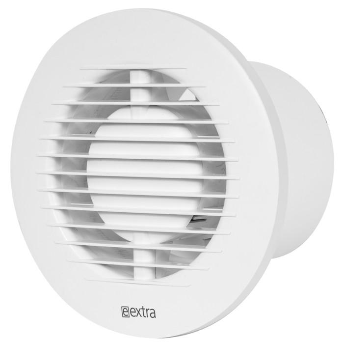 Electricfan,circularE-EXTRA,ø100mmwithballbearing,timer