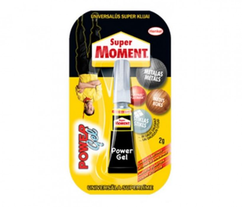 Henkel SUPER MOMENT GEL 2g  Līme